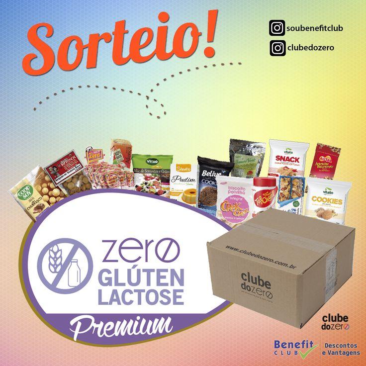 Quer ganhar uma caixa cheia de produtos saudáveis como esta? Participe do nosso sorteio no Instagram @soubenefitclub
