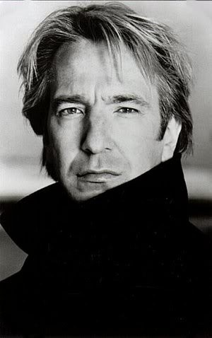 Snape. Snape. Severus Snape.- Yeah ok but before he was Snape he was Colonel Brandon!