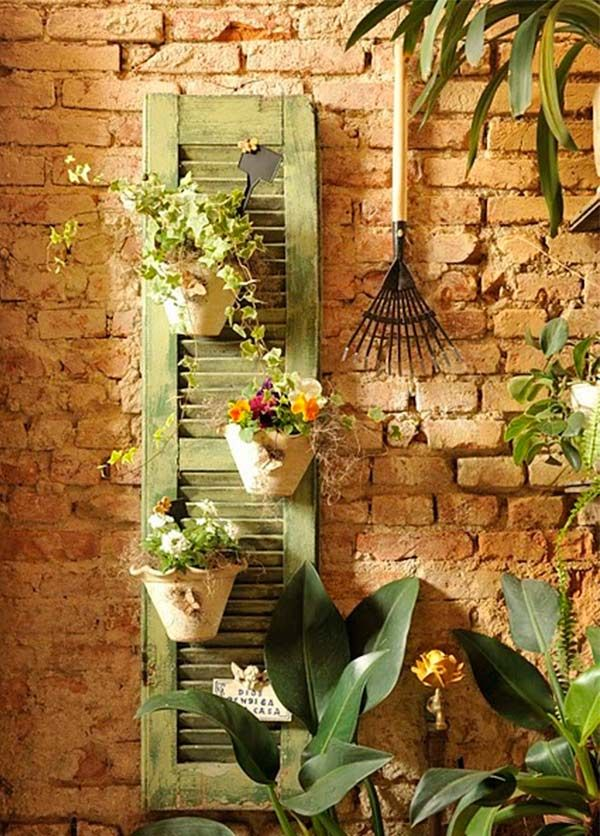 Old wooden shutters easily can be re-purposed. They simply need to be re-painted with the desired color and find them a new function in the home. See some ideas how to used the old wooden shutters. Image credit Image credit Image credit Image credit Image credit Image credit Image credit …