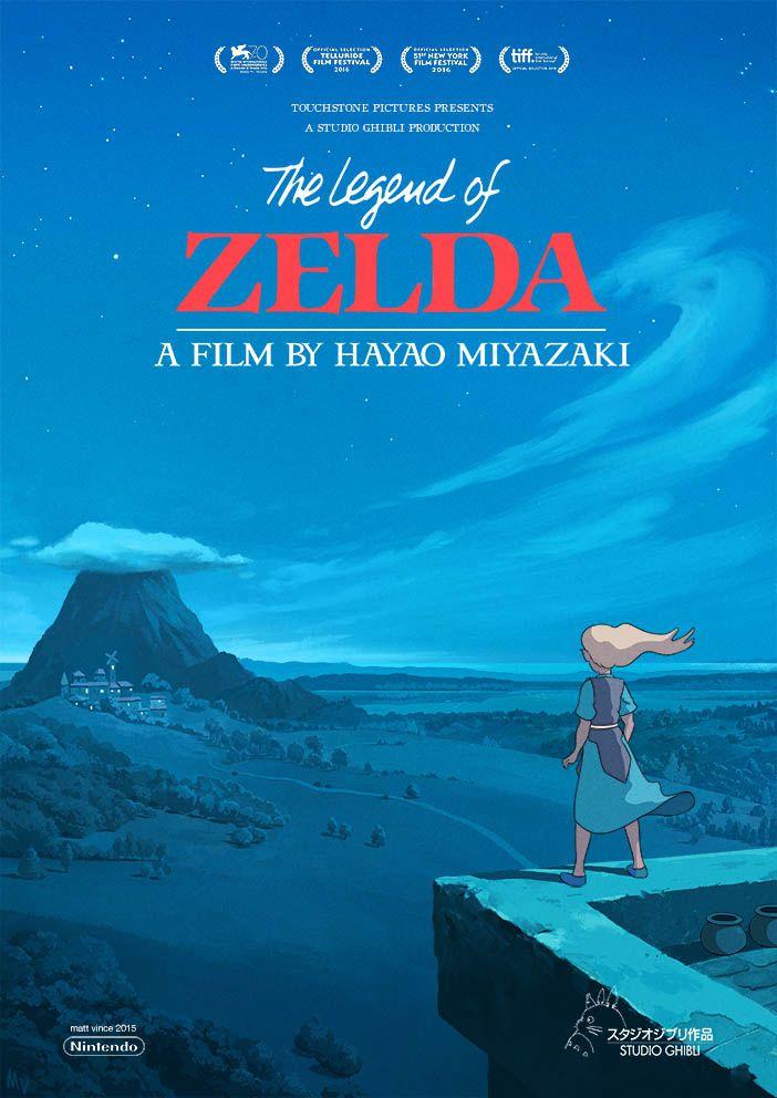 Si Zelda était un film de Miyazaki - Zelda