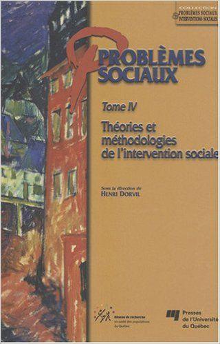 Problèmes sociaux t. 4: Amazon.ca: Henri Dorvil: Books