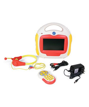kids portable dvd player remote by one step ahead on zulily today 110