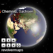 Widgets | RevolverMaps - Mapas en 3D gratuitos de Los Visitantes