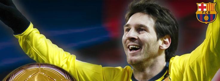 Lionel Messi Facebook Cover