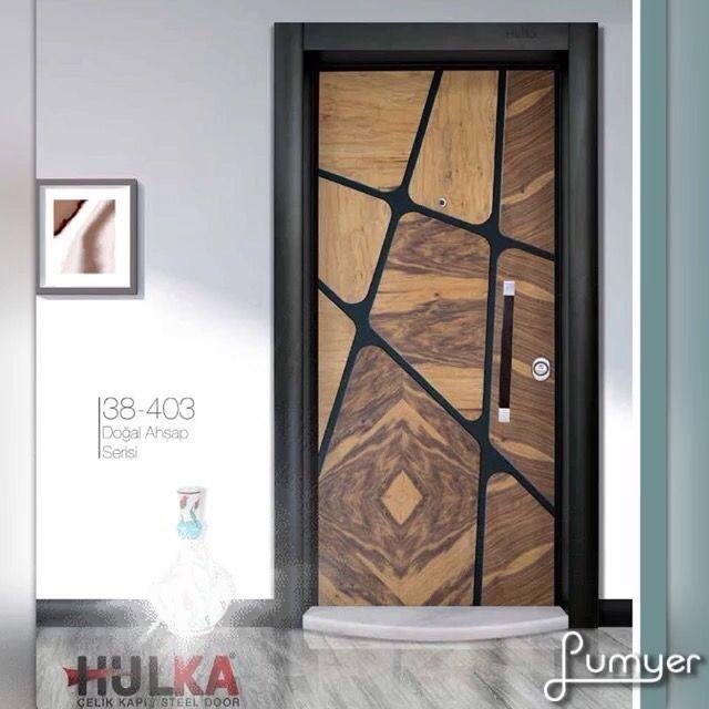 Pin de Hulka Steel Door em Kapı em 2019 | Home door design ...