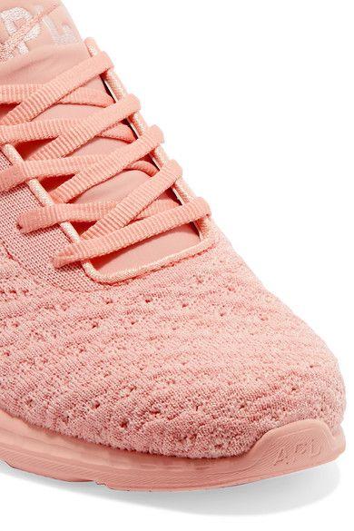 Athletic Propulsion Labs - Techloom Phantom 3d Mesh Sneakers - Peach - US
