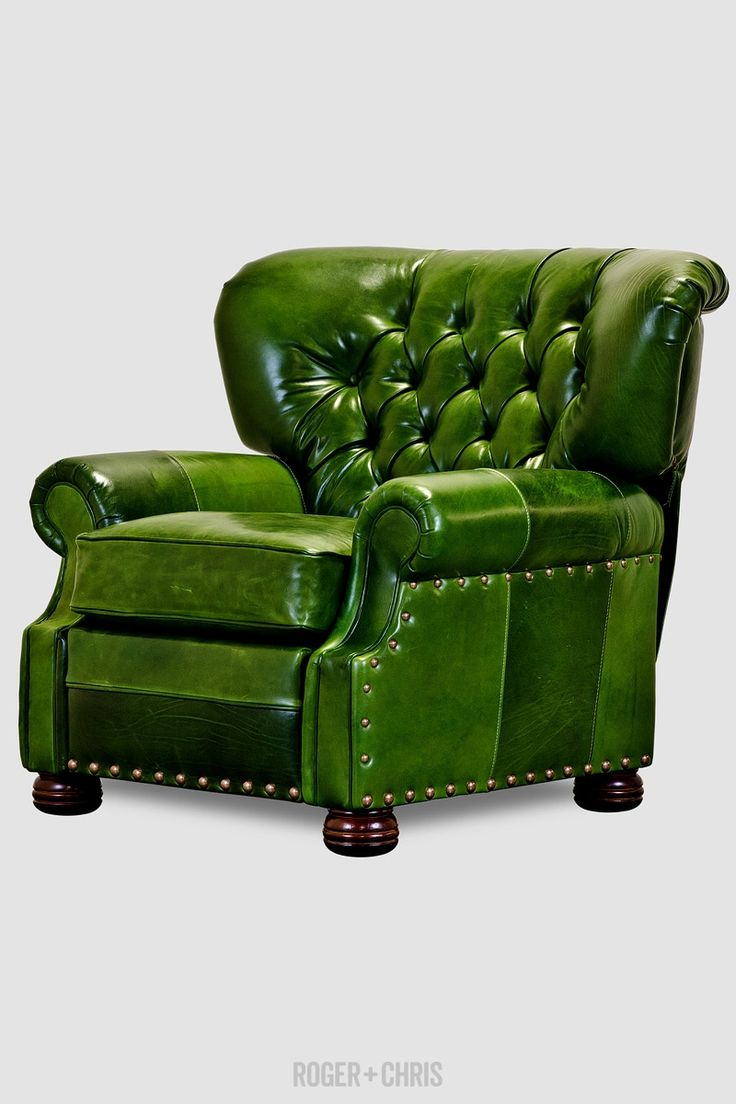 Eugene recliner in Mont Blanc Evergreen leather & 159 best Decorating - Living Room chairs images on Pinterest ... islam-shia.org