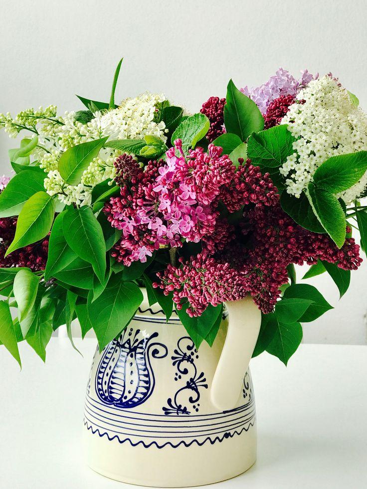 Lilac vase