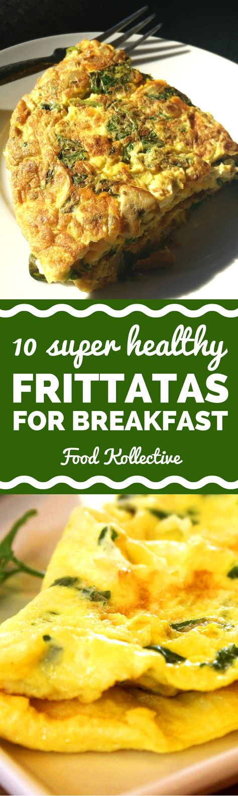 I was looking for healthy frittata recipes and these look tasty! There are recipes for a spinach frittata, tomato frittata, zucchini frittata, and more vegetable frittata ideas. These would be great for a healthy breakfast. Now I know what to make for brunch! Collected on FoodKollective.com