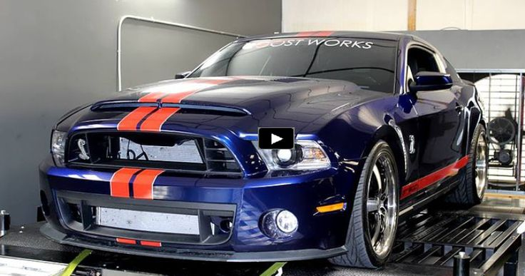 Sick 2012 Mustang Shelby GT500 Pushes Over 1200hp