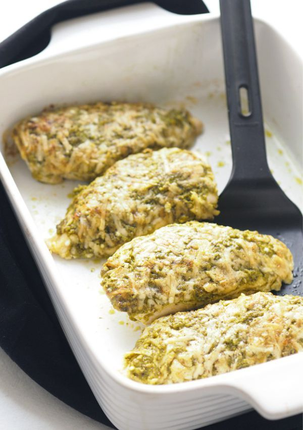 Baked Pesto Parmesan Chicken Chicken Is A Popular Family Favourite Ingredient It S Probably Chicken Parmesan Recipes Chicken Parmesan Chicken Pesto Recipes