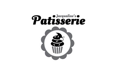 A quirky modern design for a startup- Jacqualines Patisserie.