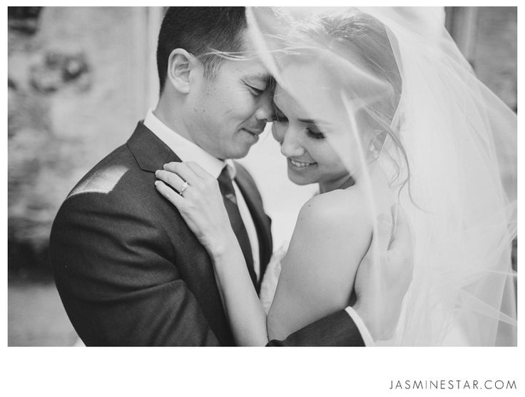 Kunde Winery Wedding : Sandra + Alex - Jasmine Star Photography Blog I love that part of the lens is under the veil.