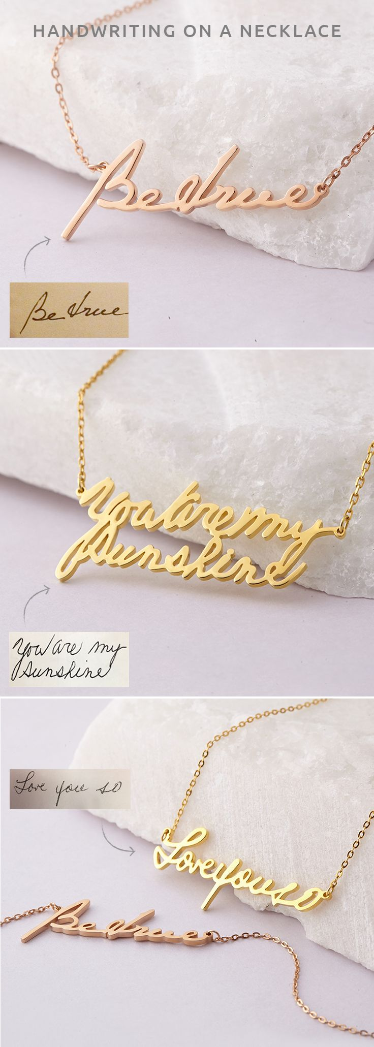 Necklace with handwriting • Jewelry with handwriting • gold handwriting necklace • necklace for girlfriend • best friend gifts • christmas presents for mom • birthday gift for mother in law • personalized gifts for her • Custom handwriting necklace • Handwriting gift • Memorial necklace for mom • Keepsake jewelry • Condolence Jewelry in Sterling Silver • Sympathy gift • bridesmaid gift ideas • gifts for bridesmaids • best mother in law gifts for a mother in law • engagement gifts from…