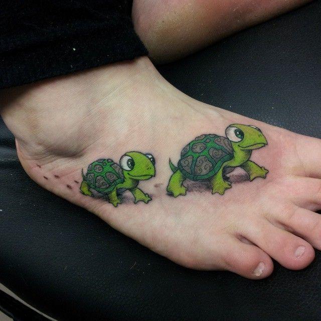 turtle family tattoos