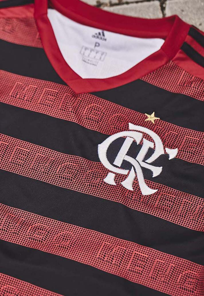66f5985e702 adidas Launch Flamengo 2019 Home Shirt - SoccerBible | Soccer • Club ...