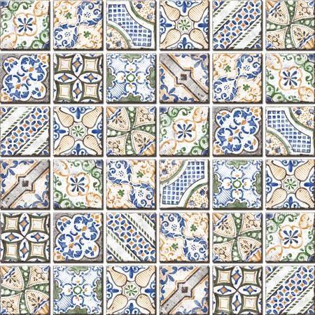 Dekor Fineza Barro mix vietri 5x5 cm, mat