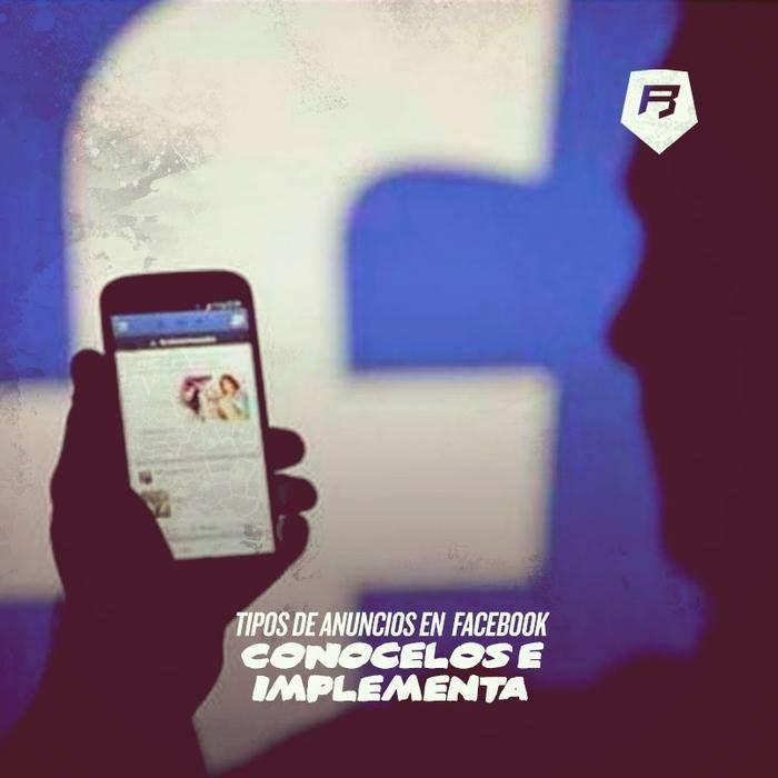 #Facebook #socialmedia CONÓCELOS E IMPLEMENTA  TIPOS DE ANUNCIOS EN FACEBOOK  >>> http://www.rebeldesmarketingonline.com/blog/tipos-de-anuncios-en-facebook-conocelos-e-implementa/