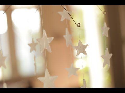 Robert's Glow in the Dark Star Mobile - YouTube