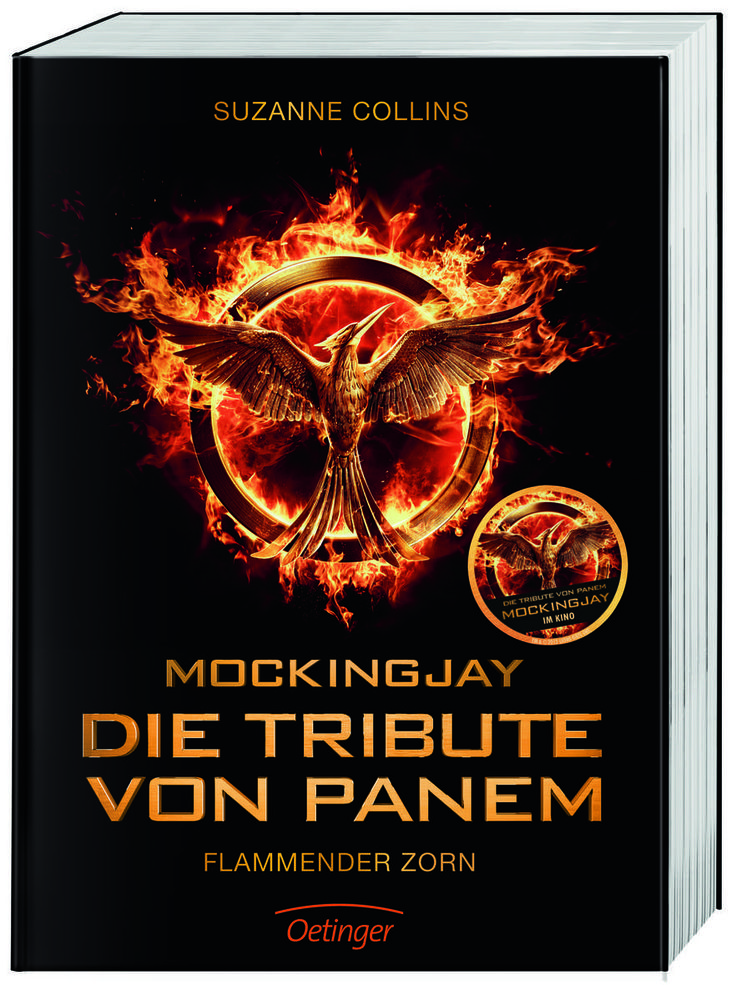 Mockingjay - Die Tribute von Panem 3 - Flammender Zorn / Filmausgabe von Suzanne Collins