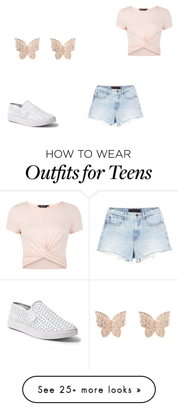 """""""Untitled #625"""" by poppen1234 on Polyvore featuring Latelita, New Look, Alexander Wang and Steve Madden"""