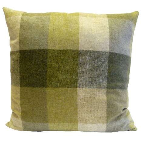 Crafted with a checked pattern in a choice of colourways, this square filled…