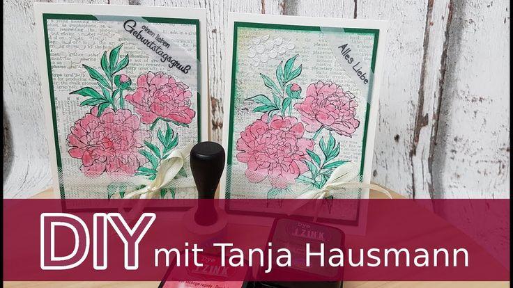 Geburtstagskarte mit Rosen einfach basteln | cardmaking [deutsch]. Die erste Karte mit diesem wunderschönen Stempelset. Schritt-für-Schritt erklärt. Viel Spaß mit der Anleitung!