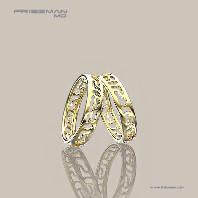 A inspiração para as alianças de ouro 18k, Lunna, foi a deusa do mesmo nome que, segundo a mitologia romana, é considerada o complemento feminino do deus Sol. Com design vazado, as alianças em ouro 18k polido, proporcionam estilo e personalidade ao casal. #aliancas #aliancasvazadas #aliancasdeouro #aliancasdecasamento