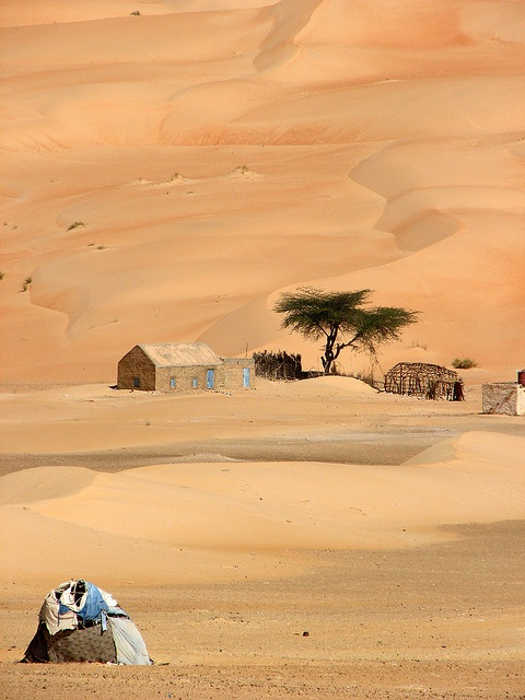 """Blue"" ,Erg Ouarane, Mauritanie by Melville B's photostream via Flickr."