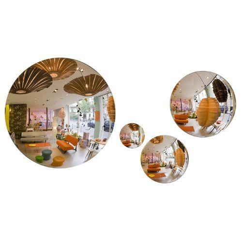 Miroir bombé en acrylique rond Convex 3 tailles Sentou