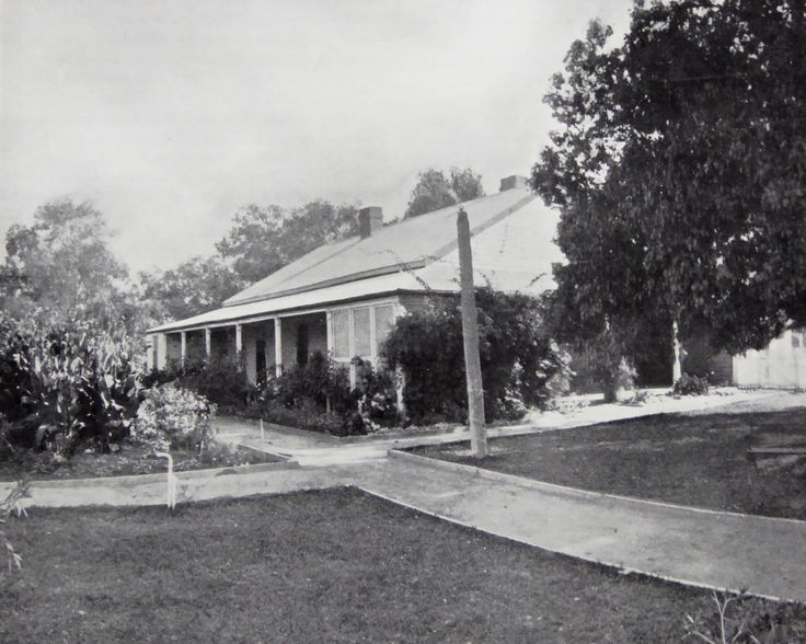 Haddon Rig Homestead, New South Wales. The Property of Franc B. S. Falkiner, Esq. Originally a property of approximately 28,000 acres. Enlarged to 80,000 acres with the purchases of Merrimba Station, Wemabung Station and Bona Station in the early 1920s. Photo circa 1920. Uploaded courtesy of thecollectorsbag.com