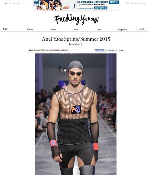 Complementos Inmaculada Vergara en Fucking young magazine  Valencia FW
