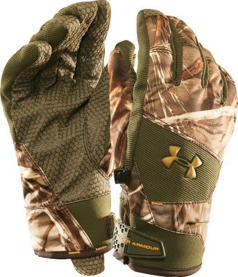 Under Armour® Flex Insulated Camo Gloves  Under Amour Flex Insulated #RealtreeAP #Camo Gloves - Waterproof, breathable protection with 80 grams of insulation for warmth. Grippy palms. Adjustable cuffs. Imported.