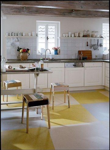 Lino pour cuisine fabulous sols with lino pour cuisine - Lino mural cuisine ...