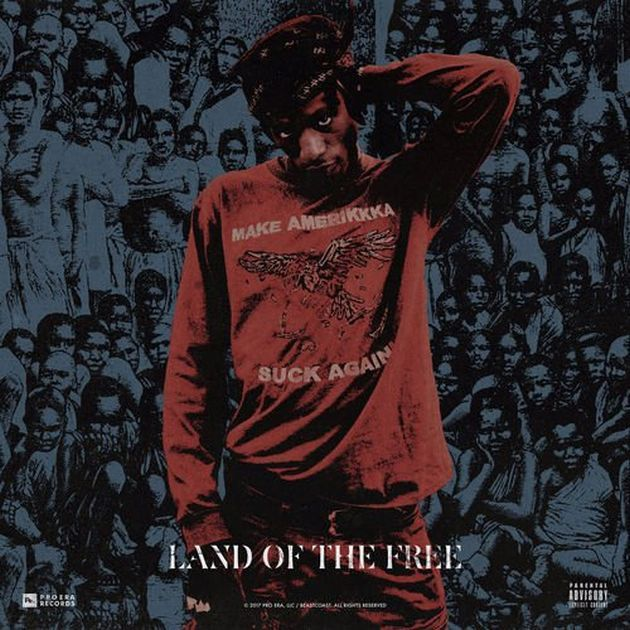 "Pro Era's head honcho Joey Badass gives fans his latest single ""Land Of The Free"". You can pick it up now on iTunes . His new album 'AABA' is set to be released later this year."