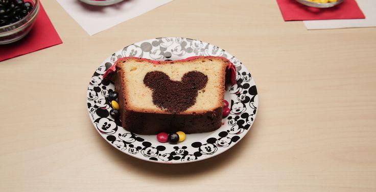Mickey Mouse Peekaboo Cake