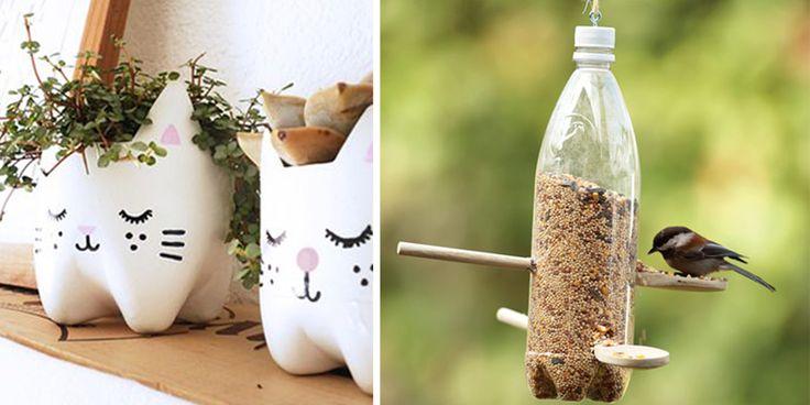Les 25 Mejores Ideas Creativas Para Reutilizar O Reciclar Botellas De Plastico