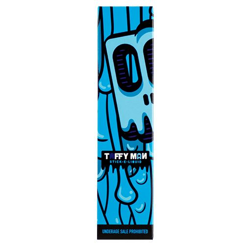 Taffy Man E-Liquid TR4BLU - Blue Raspberry Taffy.70% VG