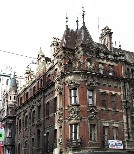 The City of Melbourne building has been an Elizabeth Street landmark since it's completion in 1888.