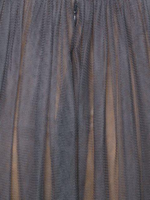 Vera Wang длинное платье дизайна колор-блок