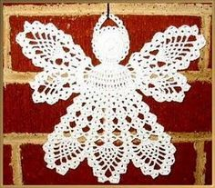 Free Crochet Patterns To Print | ... photo of this christmas angel and to print the free crochet patterns