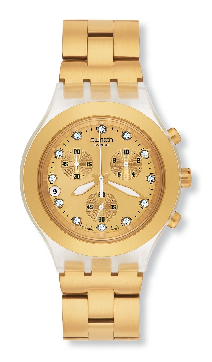 timeless in Gold - Swatch FullBlooded
