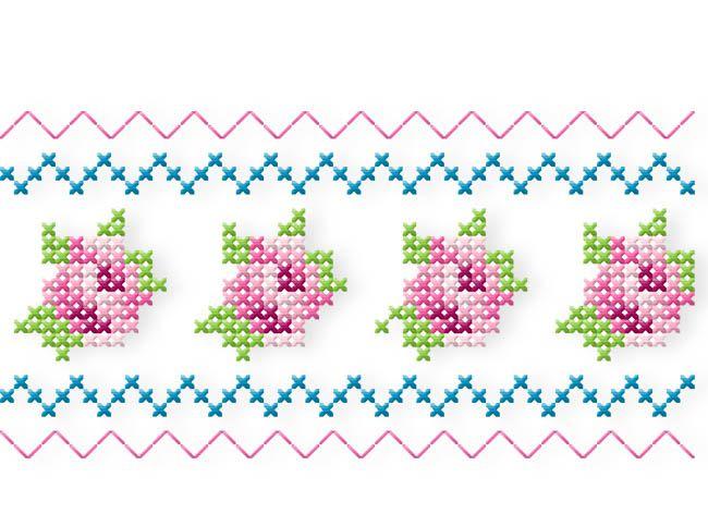 Butterfly & Roses 13x18 (+ Bonusmotiv 16x26) Zart-romantische Kreuzstichrosen, kleine süße Schmetterlinge und Schriften , das sind die Zutaten für diese zauberhafte Kollektion. Die 4 großen Buchstaben könnt Ihr jeweils einzeln im 13x18-Rahmen sticken. Nebeneinander gesetzt habt Ihr dann ein 50 cm großes