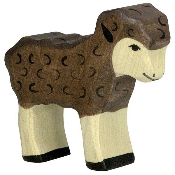 Holztiger Wooden Animal Figure Lamb Canada