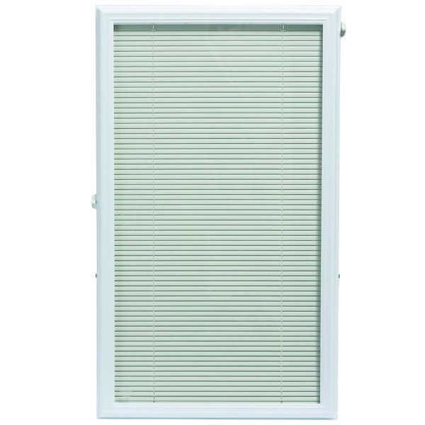 Zabitat Odl Add On Blinds For Raised Framed Door Glass Room Darkening White Horizontal Venetian Blind Reviews Wayfair