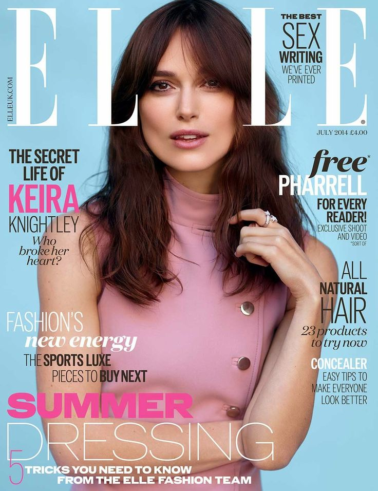 Keira Knightly - July 2014 U.K. Cover