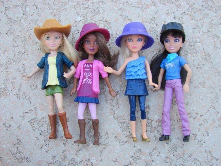 "Liv Dolls Mini McDonalds Happy Meal Set 6"" Toy Figures 2012 Spinmaster  #McDonalds"