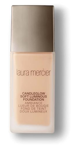 Laura Mercier always dreamed of inventing a foundation that recreated the atmosphere of a candlelight room, so she did what comes naturally…she made one! New Laura Mercier Candleglow Soft Lum…