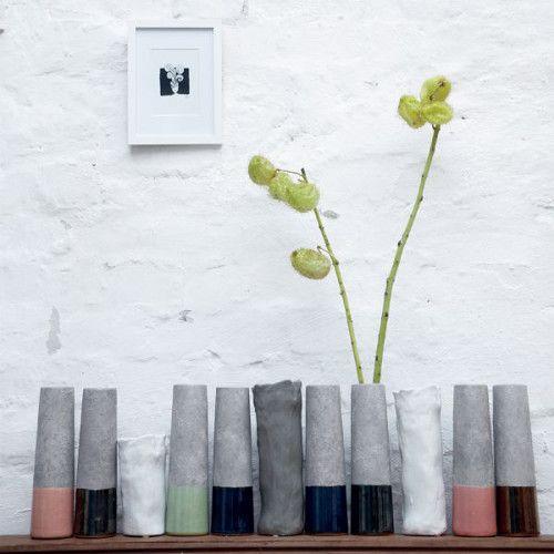 Wazony gliniane, szkliwione/ Vases clay glayzed by #House Doctor