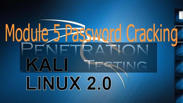 Module 5 Password Cracking